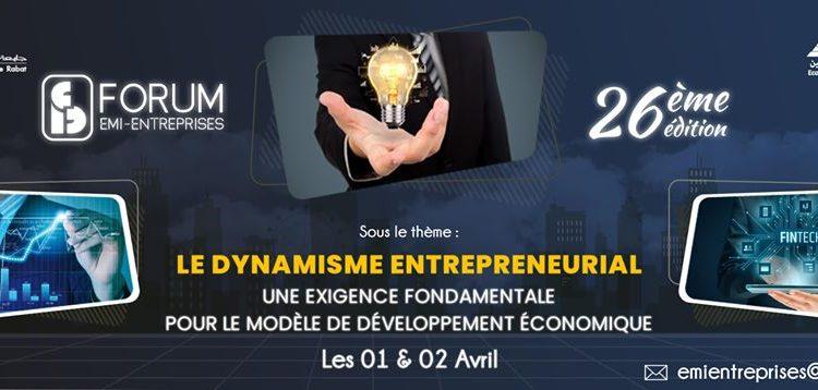 Le dynamisme entrepreneurial: Une exigence fondamentale pour le modèle de développement économique