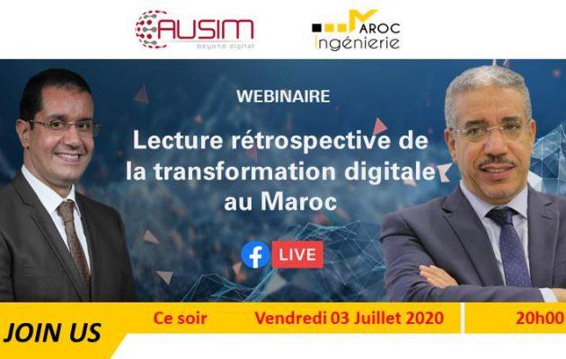 Lecture rétrospective de la transformation digitale au Maroc