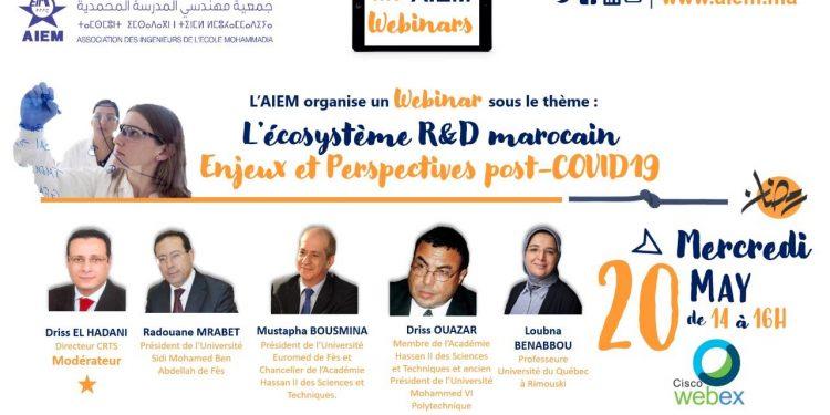 L'écosystème R&D marocain : Enjeux & perspectives post covid-19