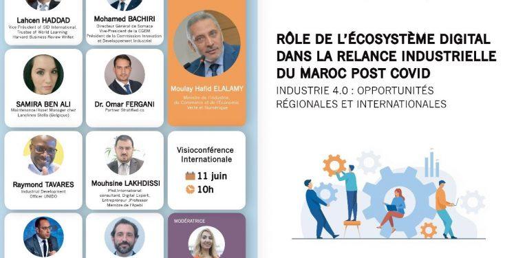 Rôle de l'Écosystème digital dans la relance industrielle du Maroc post Covid-19