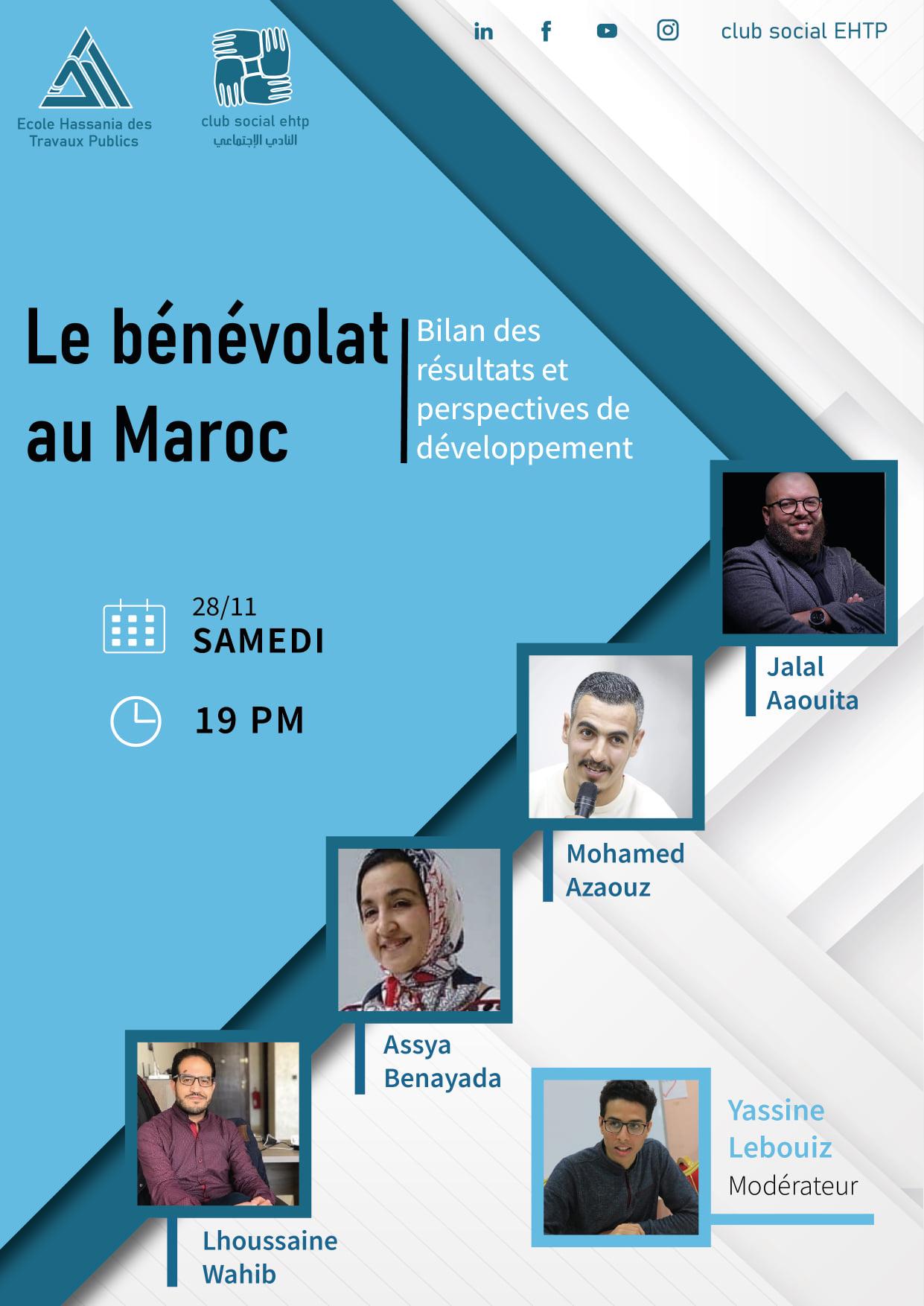 Le bénévolat au Maroc: Bilan des résultats et perspectives de développementLe bénévolat au Maroc: Bilan des résultats et perspectives de développement 2