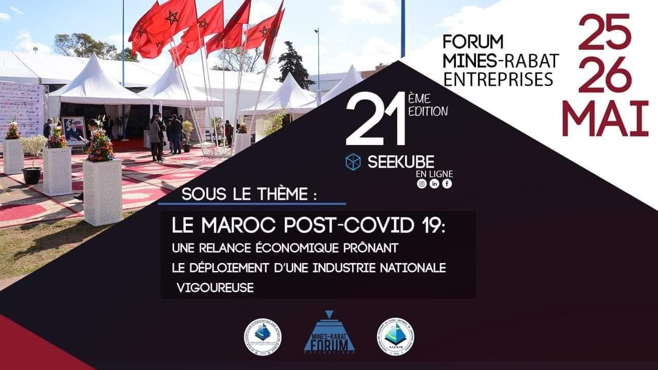 Forum Mines-Rabat Entreprises :21 édition